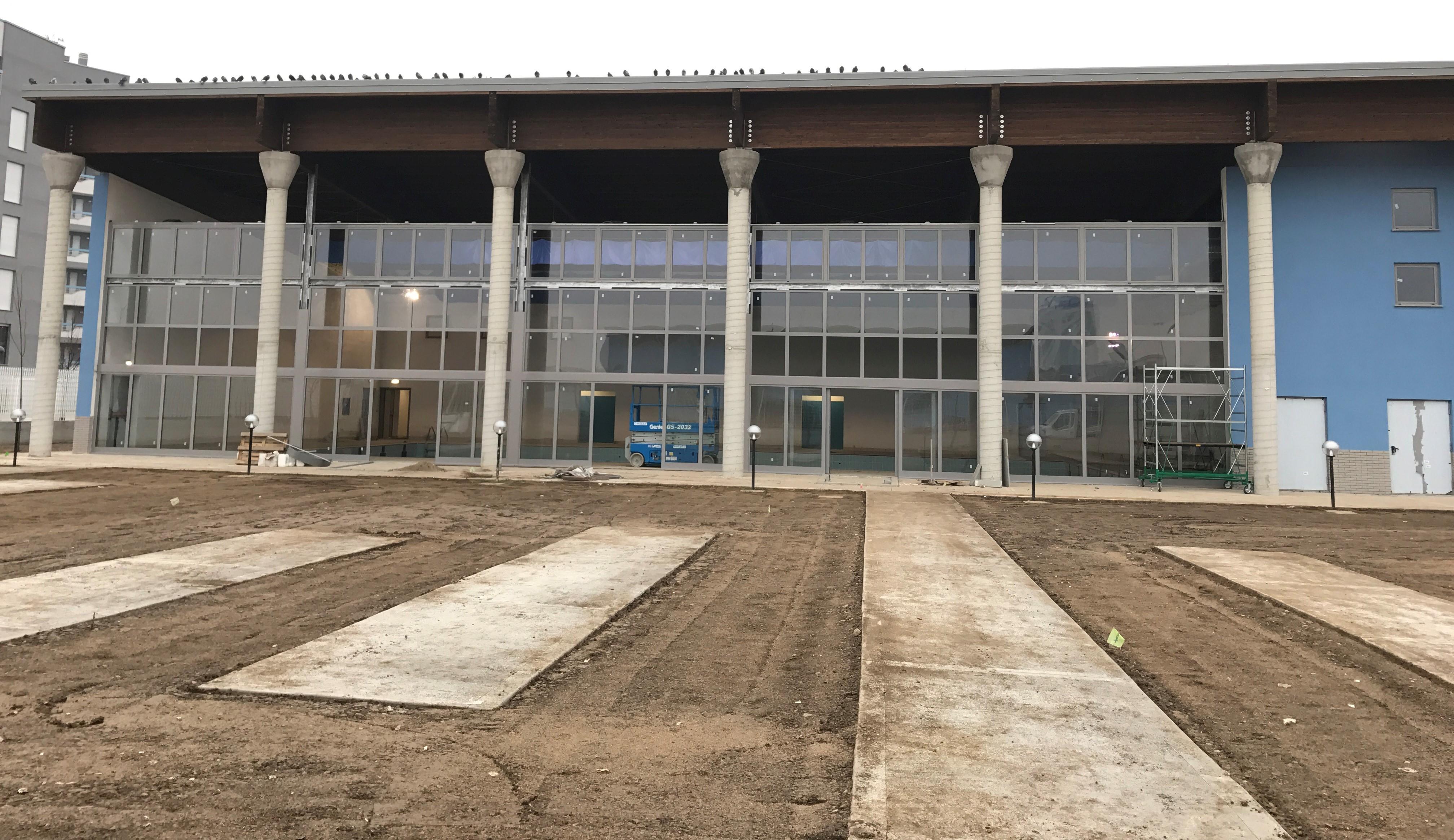 Centro Polisportivo sito in via Ferruccio Parri – Milano