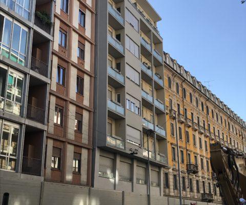 Edificio residenziale – via Edmondo De Amicis 43 – Milano