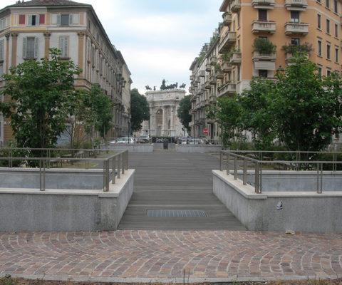 Parcheggio in Piazza dei Volontari – Milano