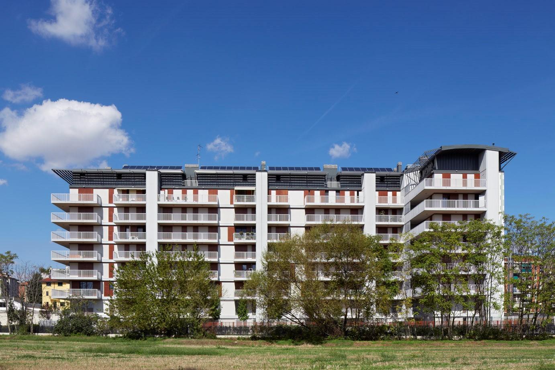 Edificio residenziale – via Marco d'Agrate 29 –  Milano